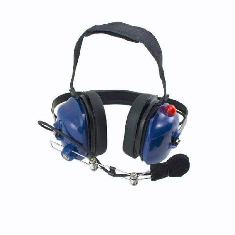 PCI Race Radios PRR5012 PCI Bluetooth Crew Chief Headset Blue