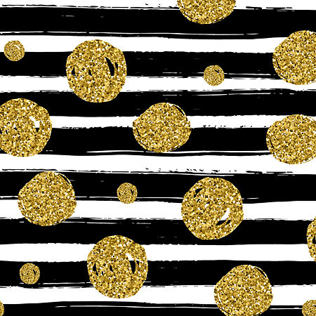 Black & Gold Calendar Wrap, One Size , Multiple Colors