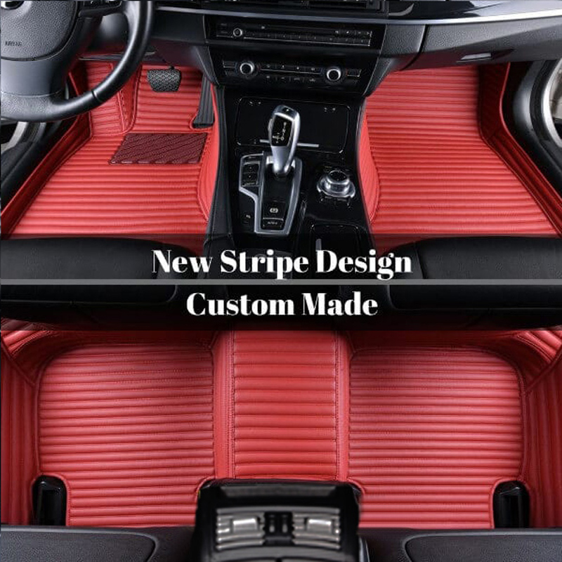 Custom Car Floor Mats High Quality Leather Moisture-Proof Skid Resistance Waterproof Wear-Resisting Most Models Are Suitable If You Do Not Find Your C