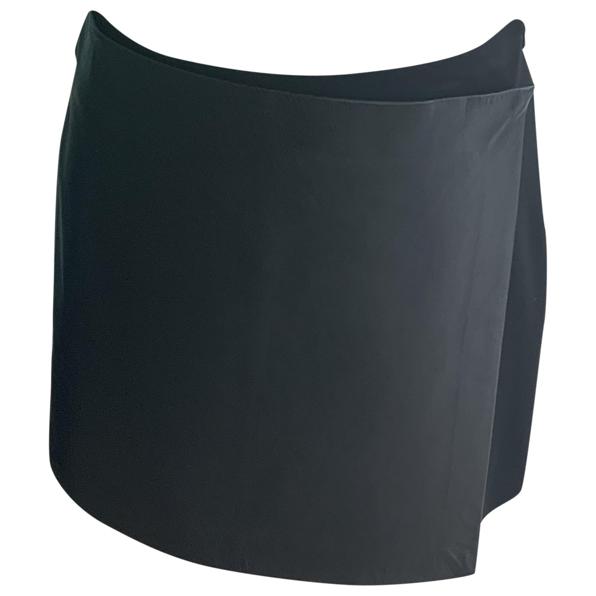 Theory \N Black Leather skirt for Women 0 0-5