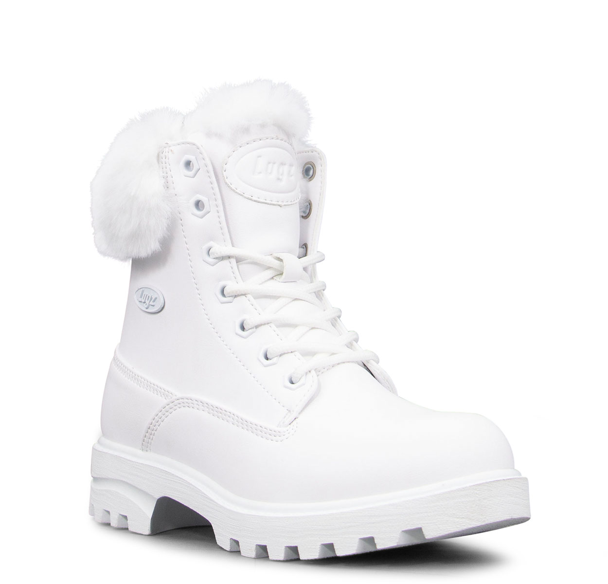 Women's Empire Hi Fur 6-Inch Boot (Choose Your Color: WHITE, Choose Your Size: 11.0)