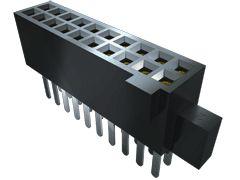 Samtec , SFM 1.27mm Pitch 10 Way 2 Row Vertical PCB Socket, Surface Mount, Solder Termination (57)