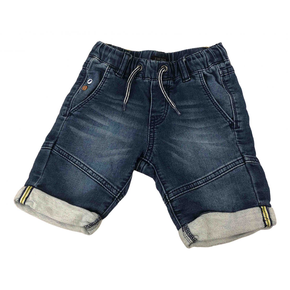Ikks \N Blue Denim - Jeans Shorts for Kids 5 years - up to 108cm FR