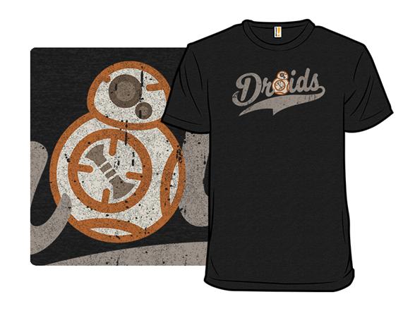 Team Droids T Shirt