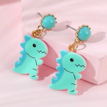 Girls Dragon Drop Earrings