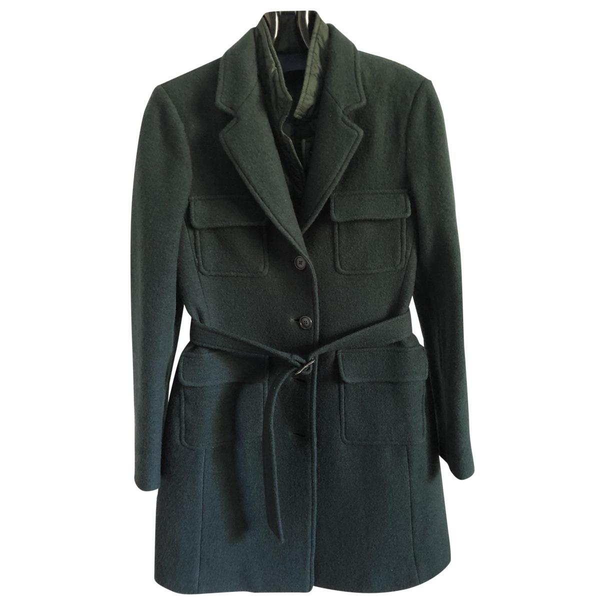 Aspesi \N Green Wool coat for Women 40 IT