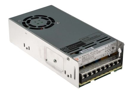 RS PRO , 240W Embedded Switch Mode Power Supply SMPS, 24V dc, Enclosed
