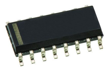 Texas Instruments CD74HC595DW 8-stage Shift Register, Serial to Parallel, 16-Pin SOIC (10)