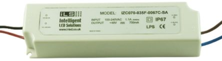 Intelligent LED Solutions ILS Constant Current LED Driver 35W 9 → 48V