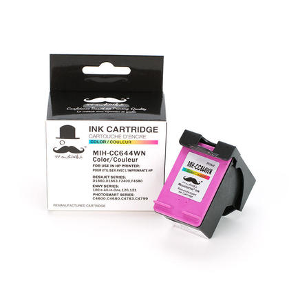 Compatible HP DeskJet F2400 Color Ink Cartridge High Yield - Moustache
