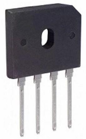 HY Electronic Corp GBU2510, Bridge Rectifier, 25A 1000V, 4-Pin GBU (20)