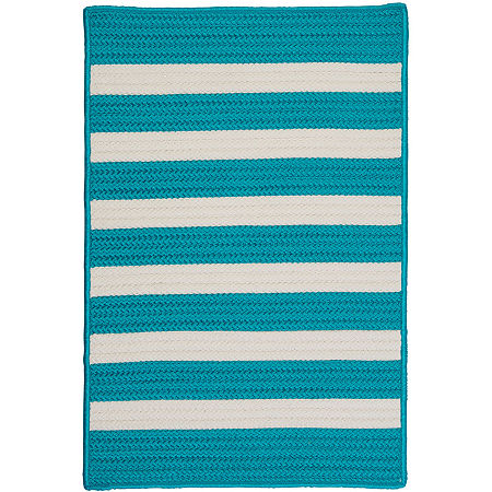 Colonial Mills Bayside Reversible Braided Indoor/Outdoor Rectangular Rug, One Size , Orange