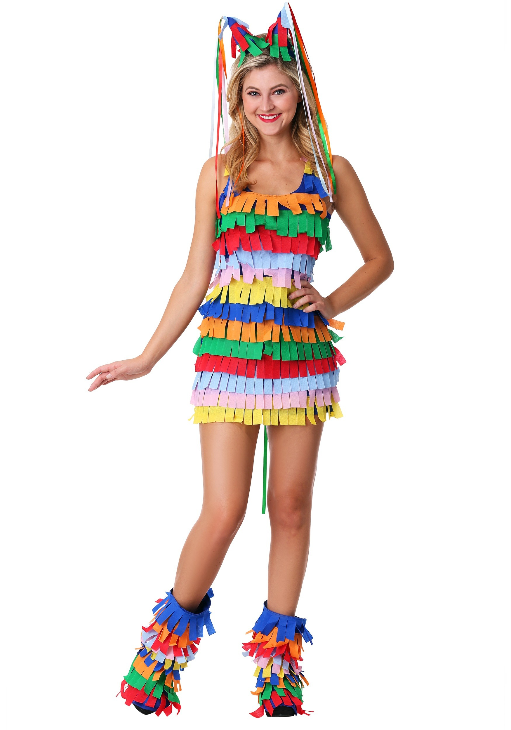 Women's Pinata Costume