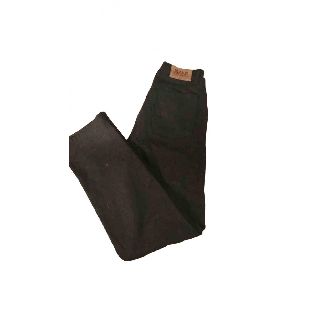 Dolce & Gabbana \N Black Cotton Trousers for Men XL International