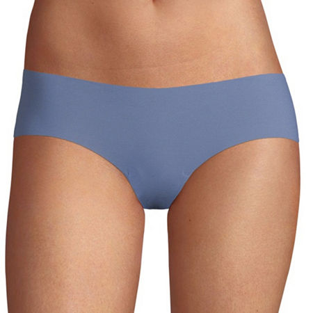 Flirtitude No Show Cheeky Panty, Large , Blue