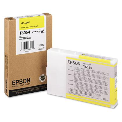 Epson T605400 Original Yellow Ink Cartridge