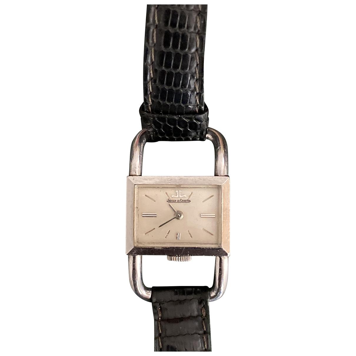 Jaeger-lecoultre Etrier Silver Silver watch for Women \N