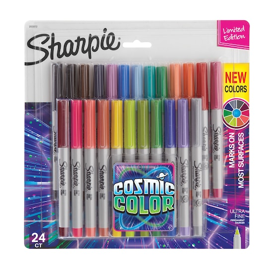 Sharpie® Cosmic Color Ultra Fine Point Permanent Markers | Michaels®