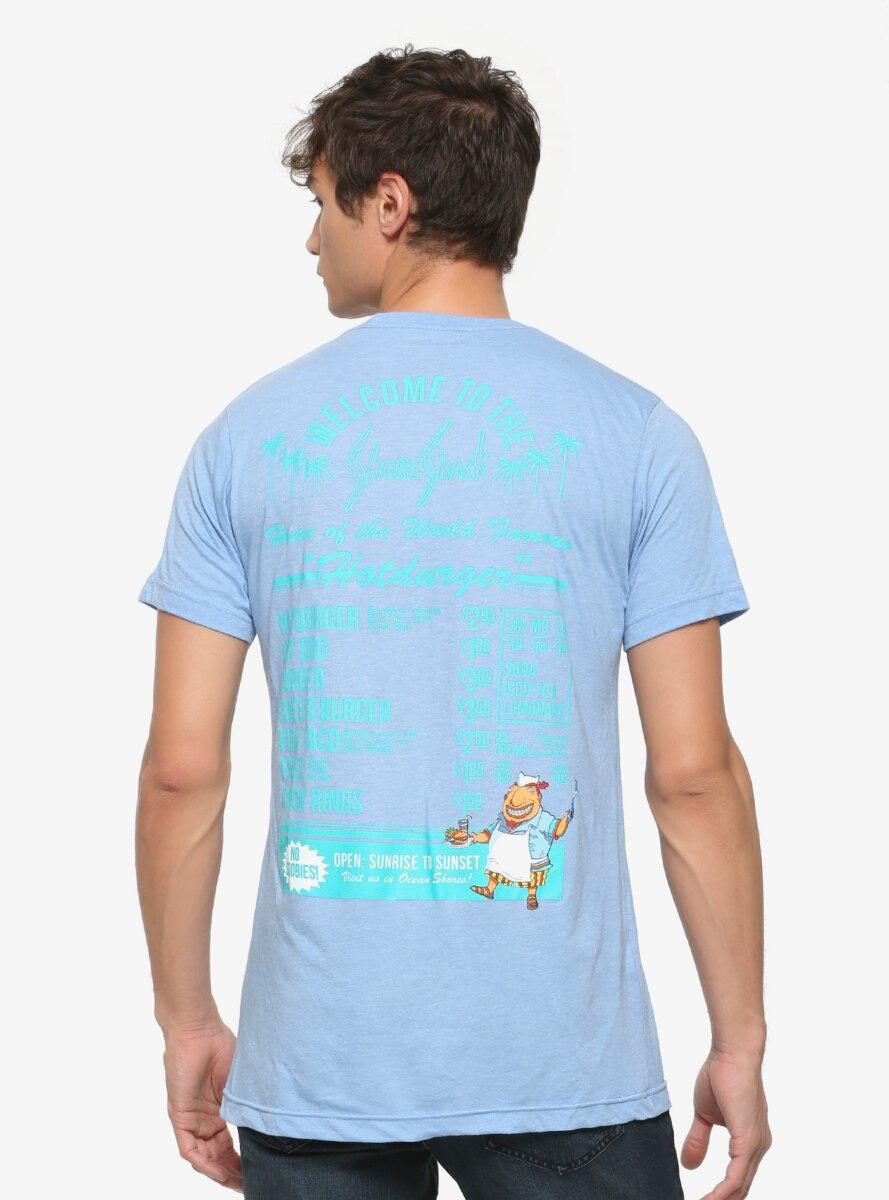 Rocket Power Shore Shack Menu T-Shirt