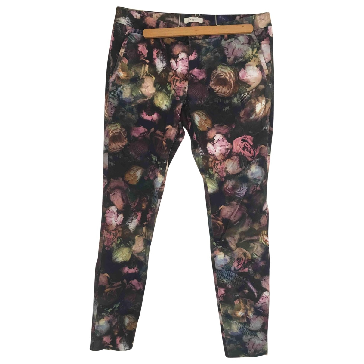 Paul Smith \N Grey Cotton Trousers for Women 42 FR