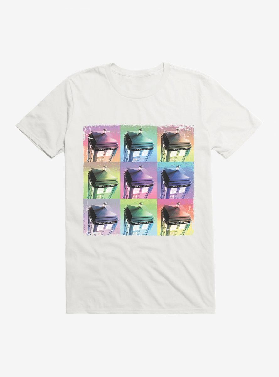 Doctor Who TARDIS Pastel Box Up T-Shirt