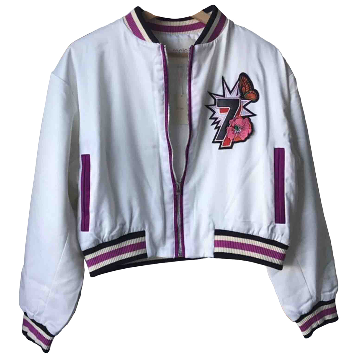 Maje Spring Summer 2019 White jacket for Women 38 FR