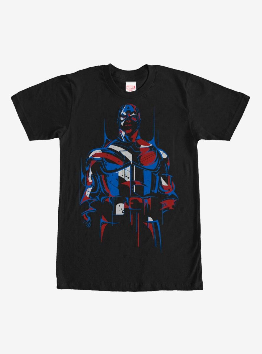 Marvel Captain America Modern T-Shirt