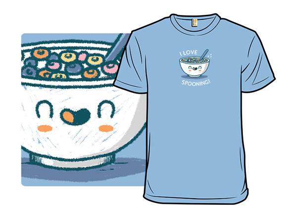 Spooning T Shirt