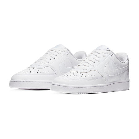Nike Court Vision Lo Womens Basketball Shoes, 10 Medium, White