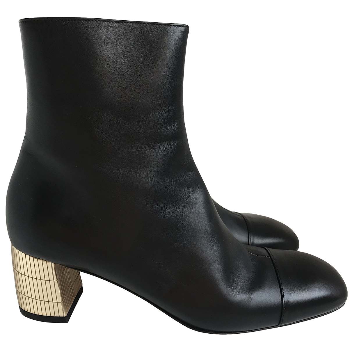 Bally \N Black Leather Ankle boots for Women 39 EU