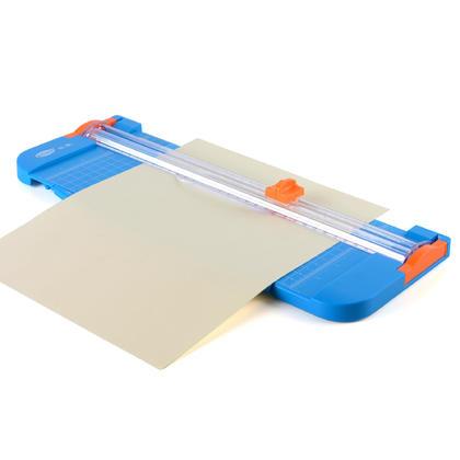 Coupe-papier portatif avec lame cachée de sécurité