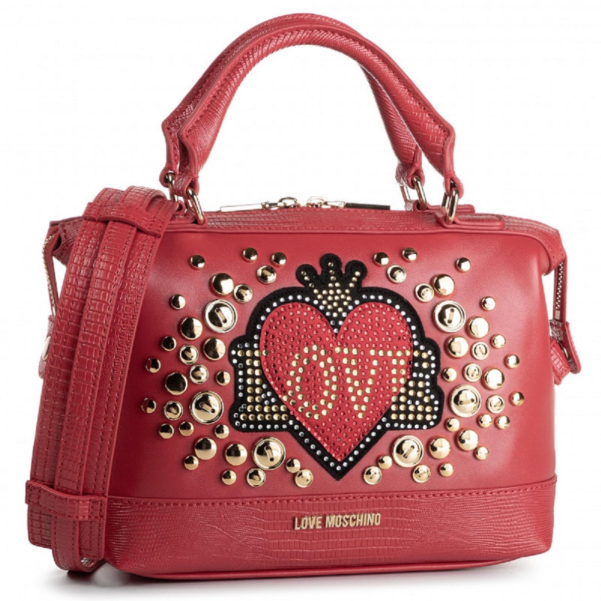 Moschino Love \N Red Cloth handbag for Women \N