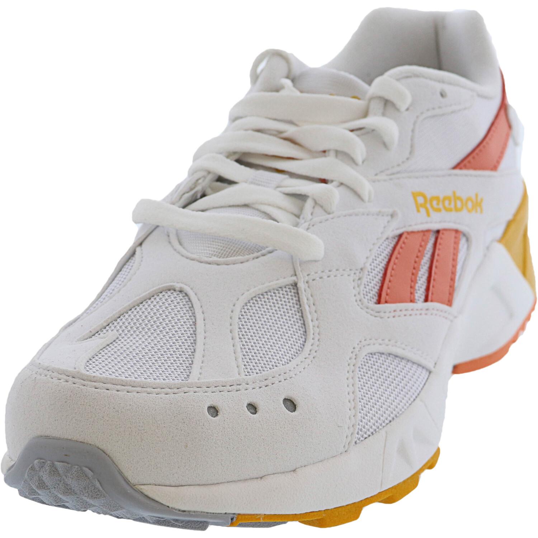 Reebok Men's Aztrek White / Stellar Pink Gold Ankle-High Running - 9M