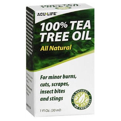 Acu-Life 100% Tea Tree Oil 1 Oz by Acu-Life