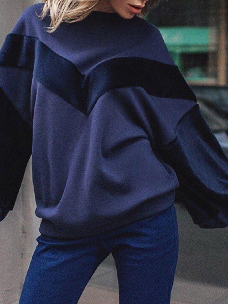 Ericdress Plain Long Sleeve Standard Hoodie