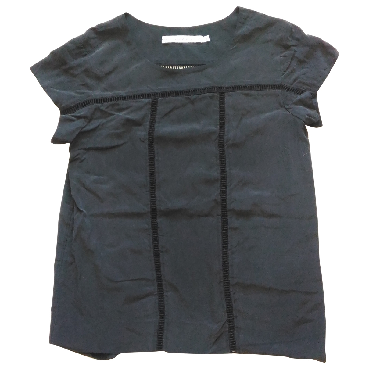 & Stories \N Anthracite Silk  top for Women 34 FR