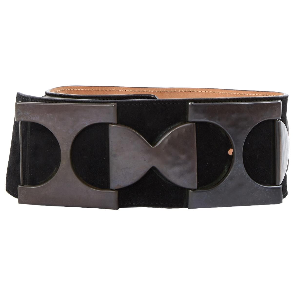 Alaïa \N Black Suede belt for Women 75 cm