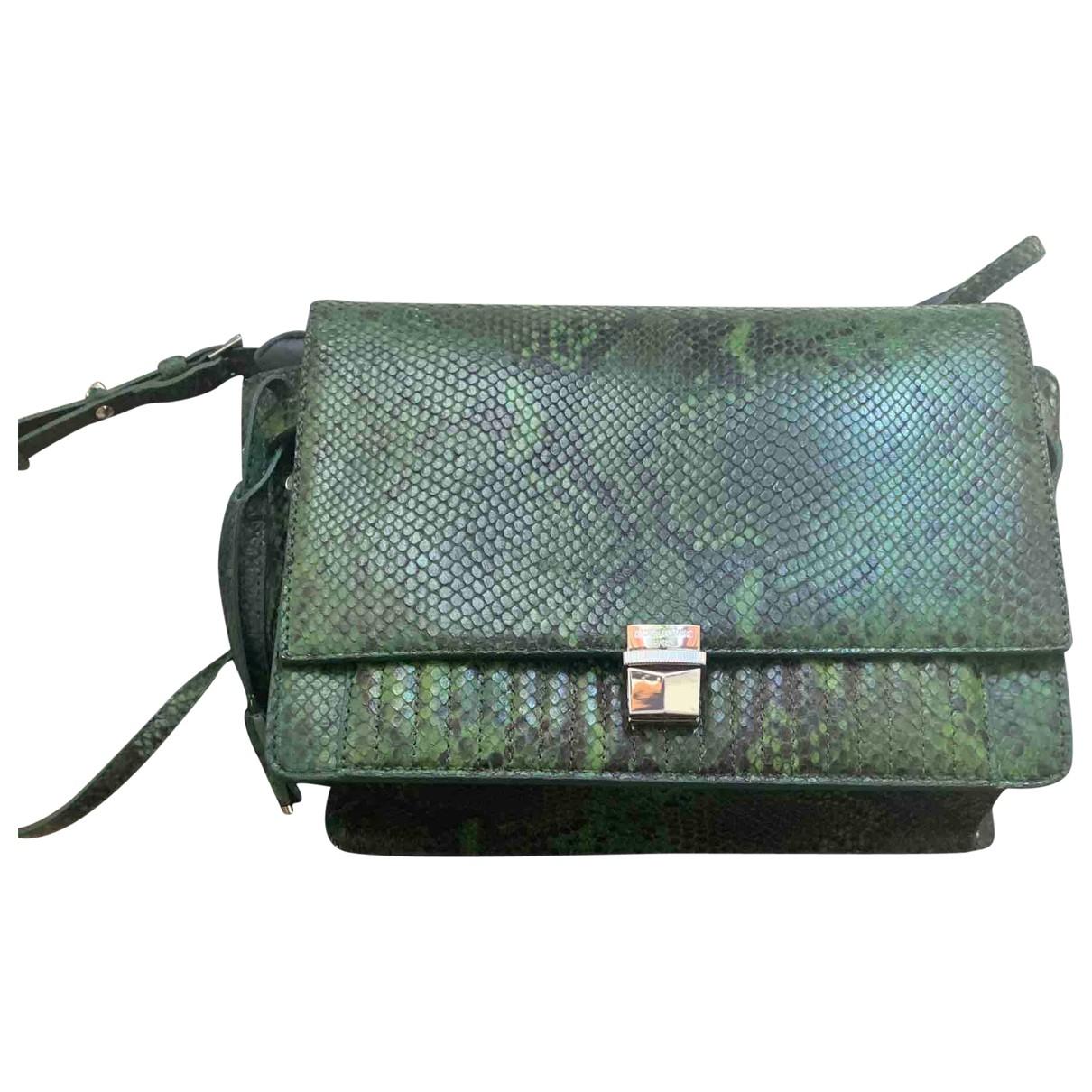 Zadig & Voltaire Optimiste Green Leather handbag for Women \N