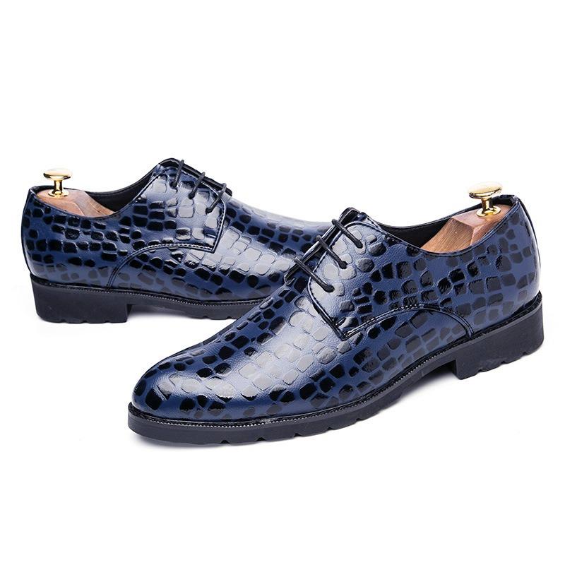 Ericdress Plain Round Toe Men's Dress Shoes