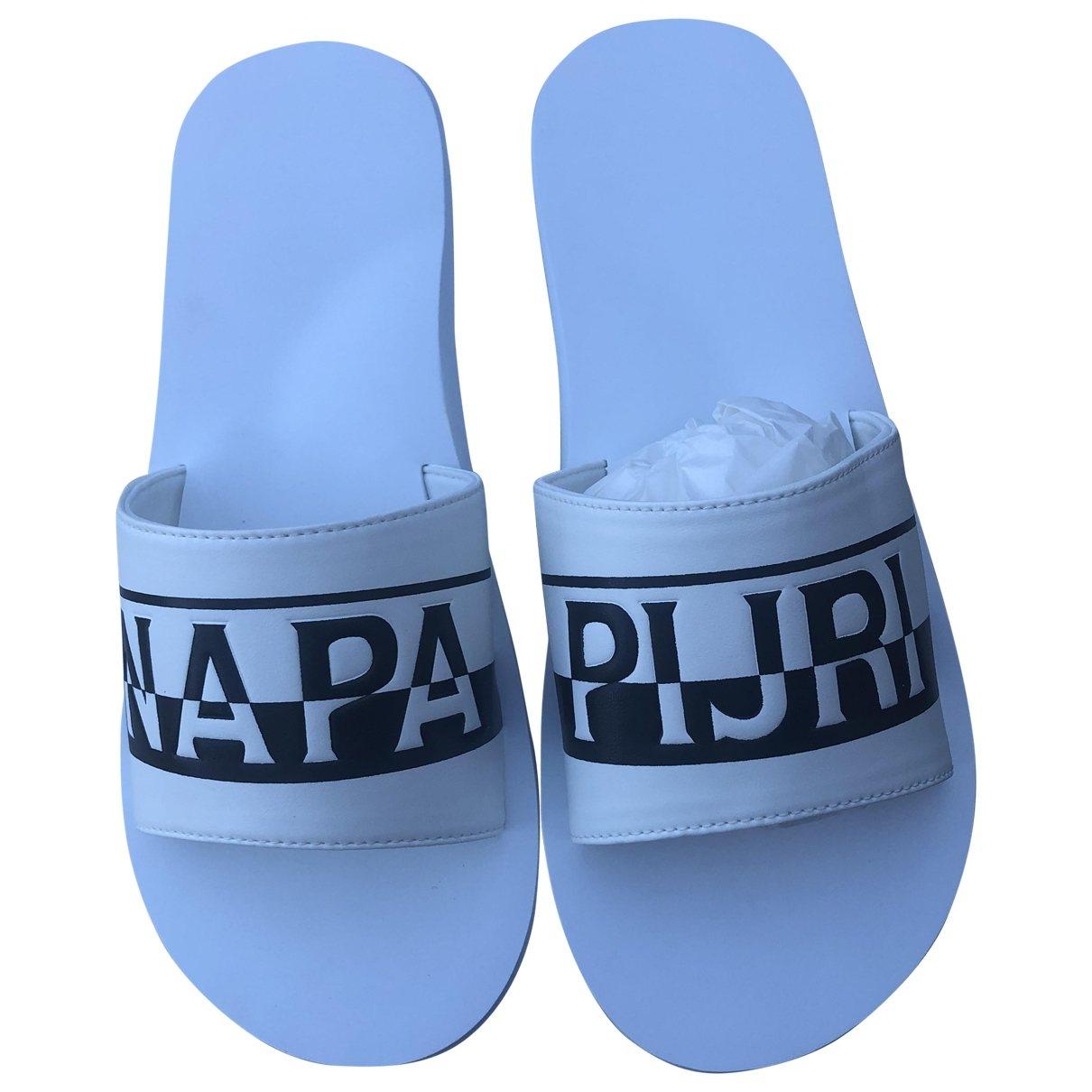 Napapijri \N White Rubber Sandals for Men 43 EU