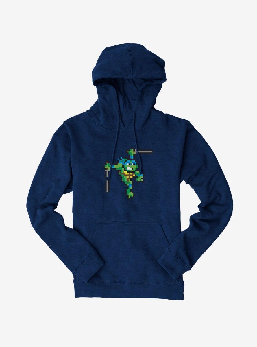 Teenage Mutant Ninja Turtles Pixelated Leonardo Hoodie
