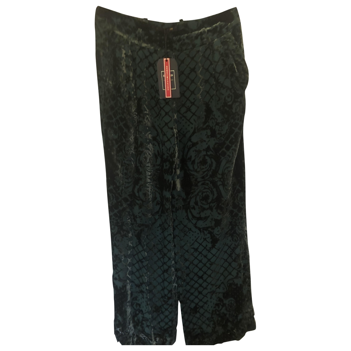 Balmain For H&m \N Green Trousers for Men 38 UK - US
