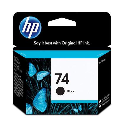 HP 74 CB335WN cartouche d'encre originale noire