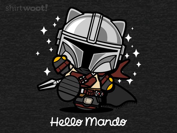 Hello Mando T Shirt