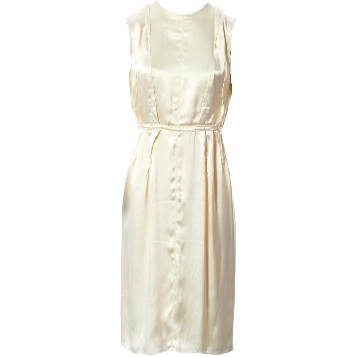 Lanvin \N Beige dress for Women 38 FR