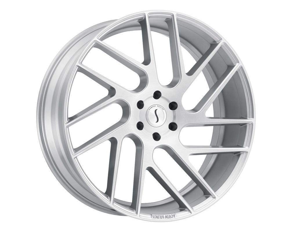 Status Juggernaut Wheel 26x10 6x135 30mm Silver w/ Brushed Machine Face