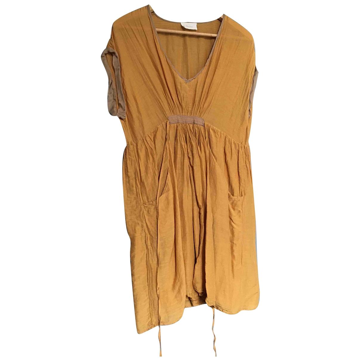 Forte_forte \N Orange Cotton dress for Women 2 0-5