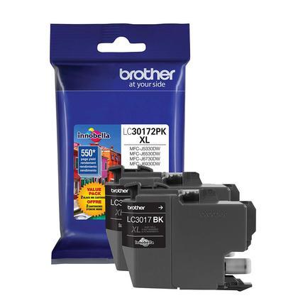 Brother LC30172PKS cartouche d'encre originale noire haute capacité
