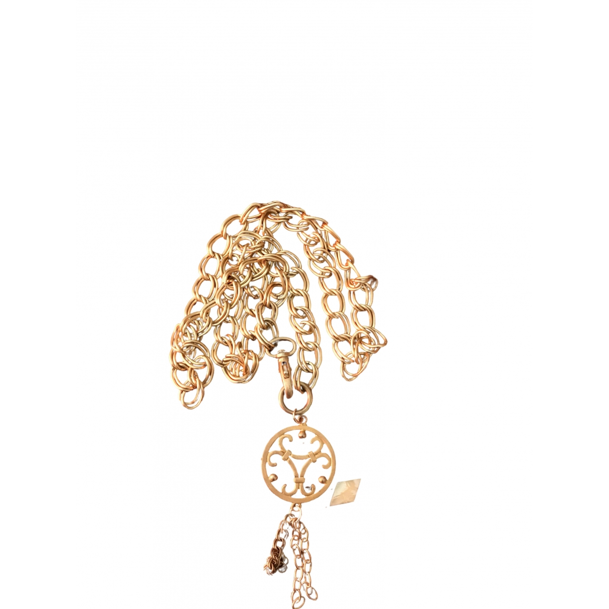 Elegance Paris \N Gold Metal belt for Women 95 cm