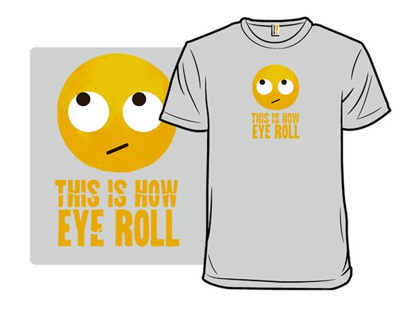 Emoji Roll T Shirt